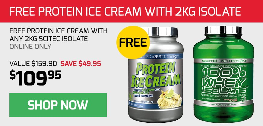 Free Scitec Protein IceCream with Isolate