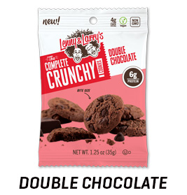 Double Chocolate Complete Crunchy Cookie